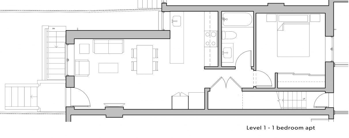 2_Level-1 floorplan