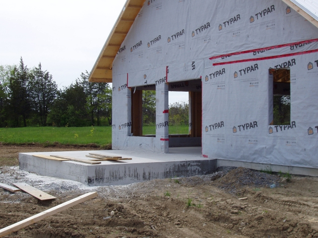 House At Roses Crossroad Energy Efficient Home Design