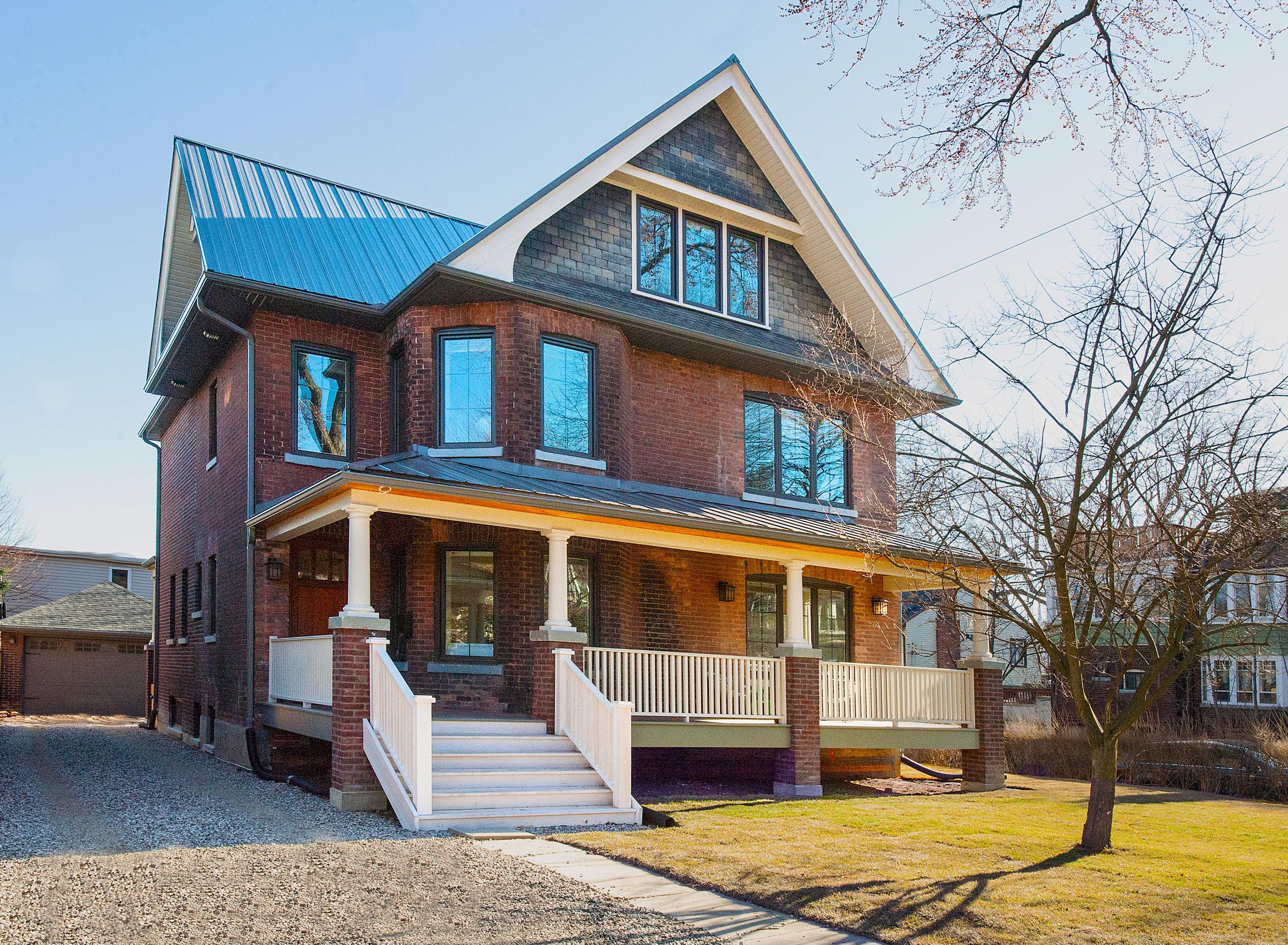 Edwardian renovation passive solar home design solares for Solar homes