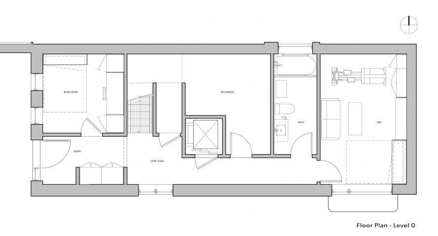 Paris-House_Level-0 floorplan