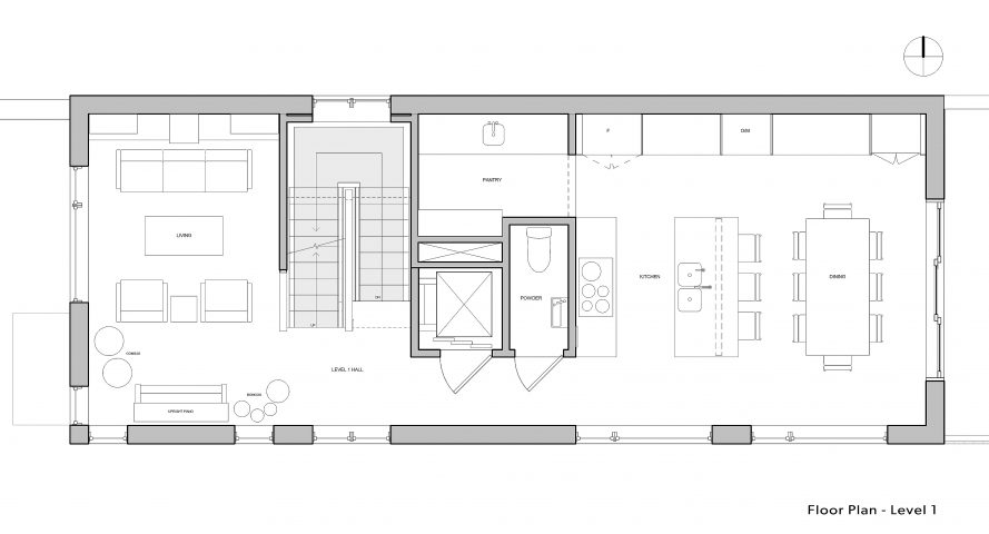 Paris-House_Level-1 floorplan