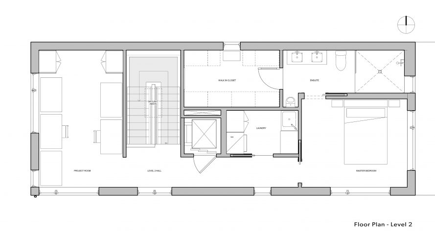Paris-House_Level-2 floorplan